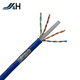 AL-MG braid bare copper PVC 4pair armored cat6 sftp cable