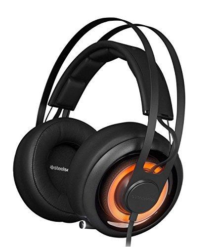 ca87c5c0879 Get Quotations · SteelSeries Siberia Elite Prism Gaming Headset-Jet Black  (Certified Refurbished)