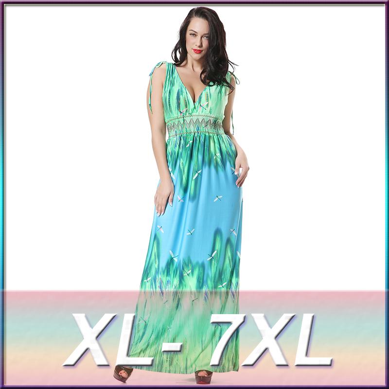 Longues robes hawaïennes 7xl , plus la taille vêtements femmes alibaba  express robes