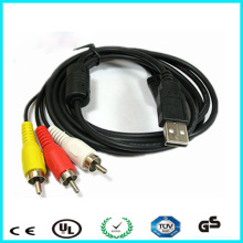 From professional supplier 30-pin to usb rca audio video cable with 12 month warranty
