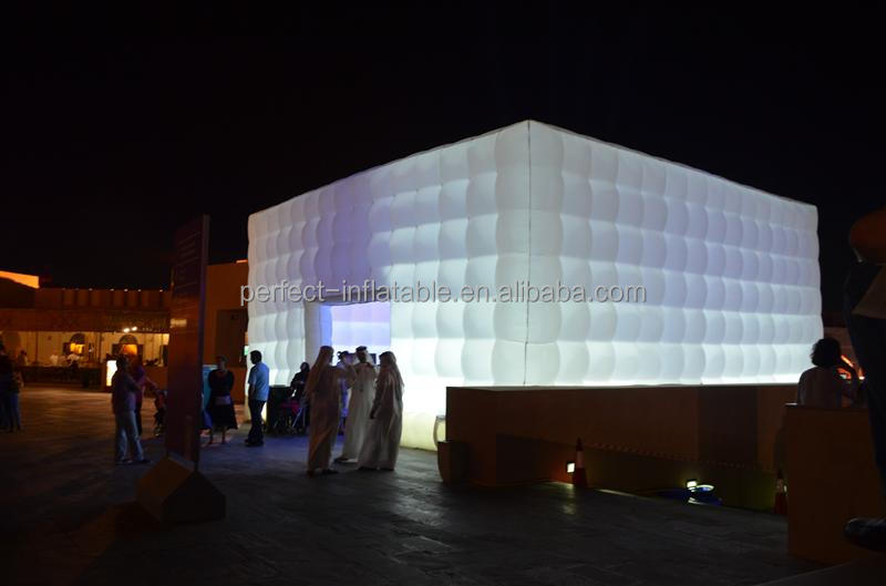 Giant and huge inflatable Led light party tent for sale
