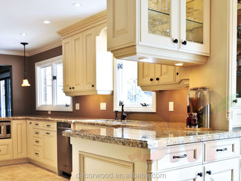 hot ivory white birch wood kitchen cabinet with a large island. Interior Design Ideas. Home Design Ideas