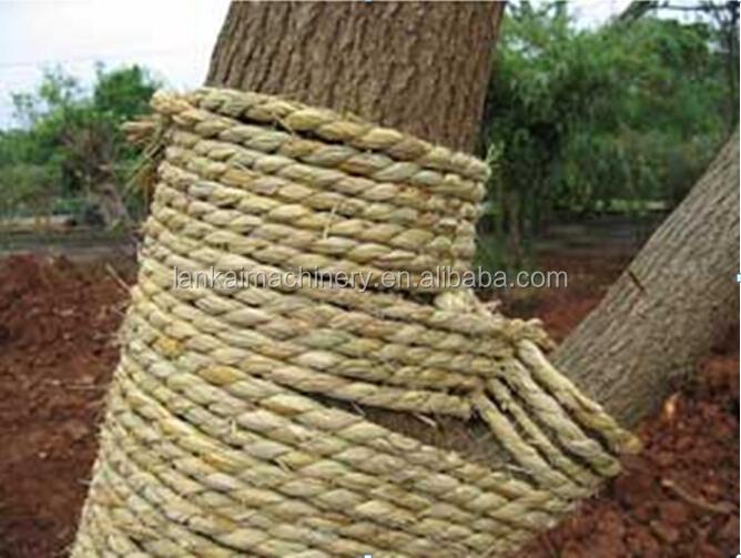 Automatic Hay Rope Machine /straw Rope Machine/hay Rope Knitting ...