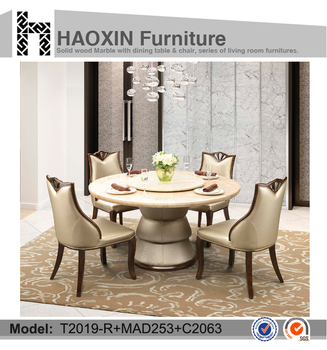 Chinese Restaurant Round Table Furniture Lazy Susan Dining