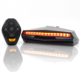 Oricycle Remote Control Bicycle Taillight Steering Bike Light with Turn Signal USB Rechargeable