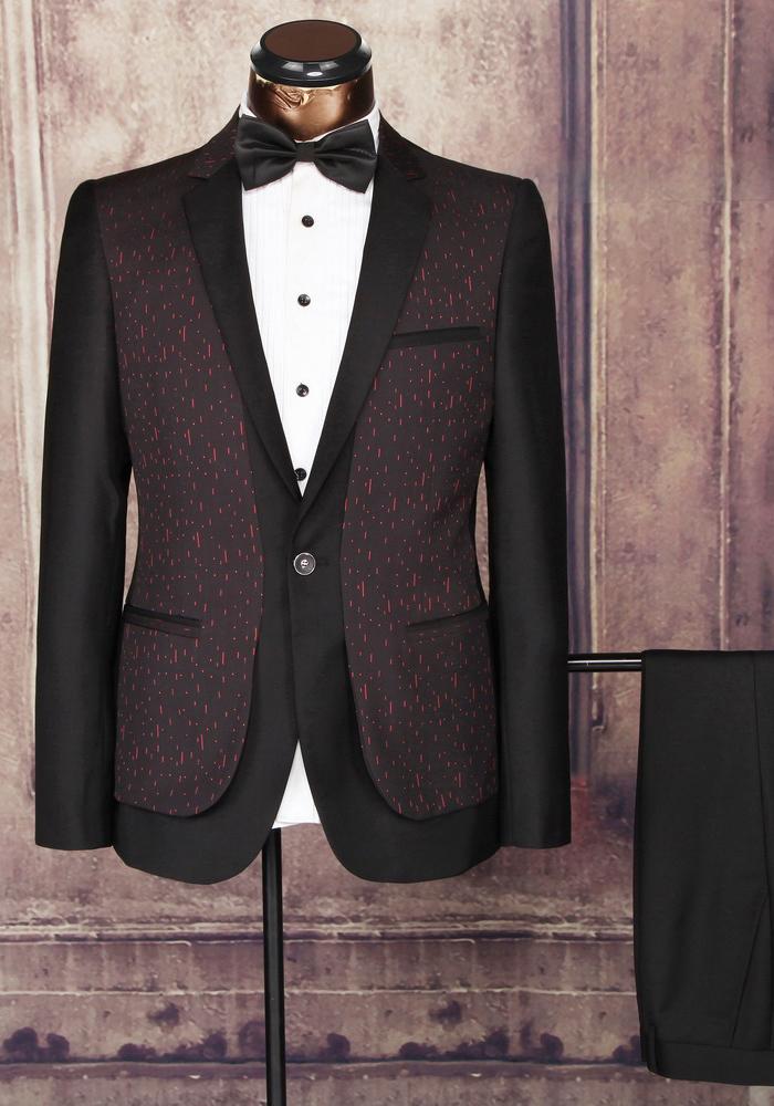 Custom Wedding Dresses 2 Piece Groom Tuxedos Man Suits - Buy ...