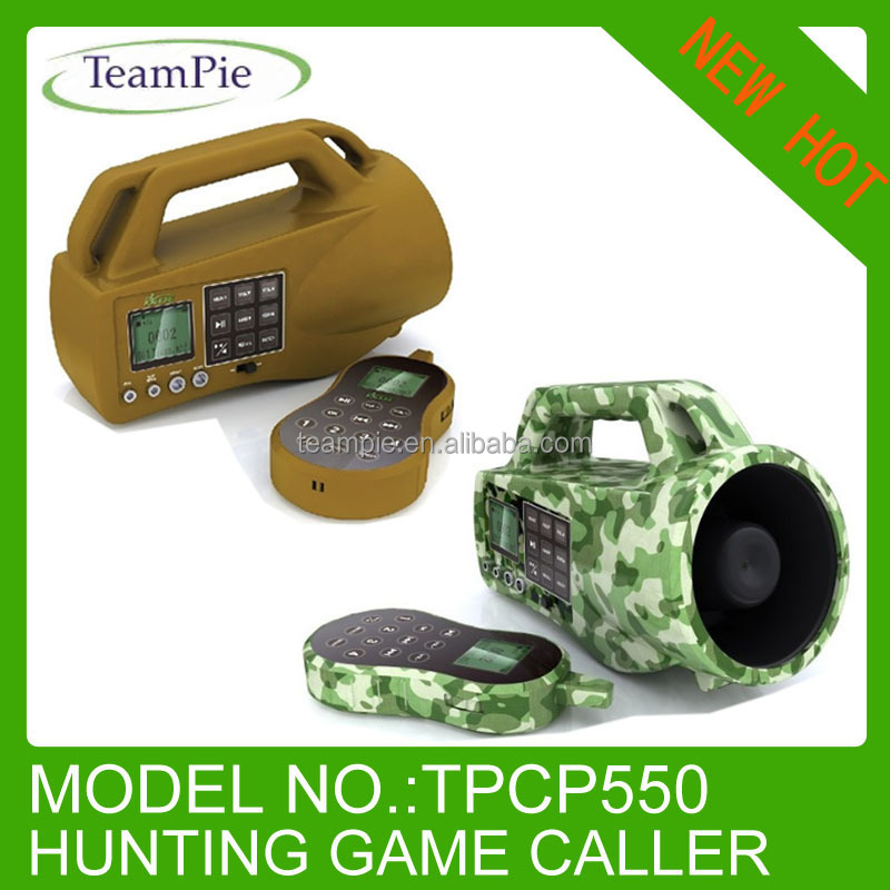 Newest electronic game calls hunting equipment