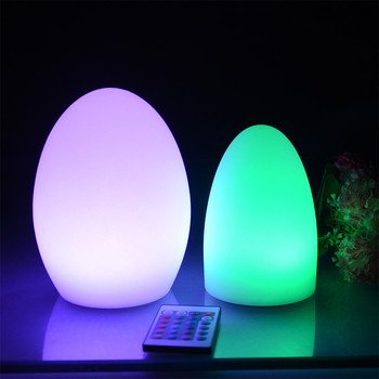 led light for home deccolour changing portable rechargeable cordless restaurant led table lamp lighting wireless led night light