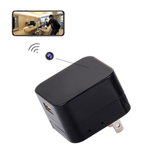 Wifi Small Smart Home Wall Hidden Spy Camera with Record