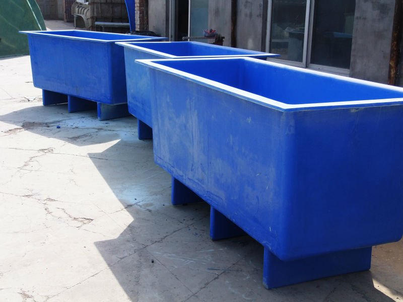 Aquaponics rectangular fish tanks ponds buy for Fish pond tanks for sale