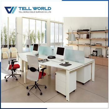 office desk components. Wonderful Desk Standard Work Station Office Desk Components Laptop Table For 4 People With Office Desk Components