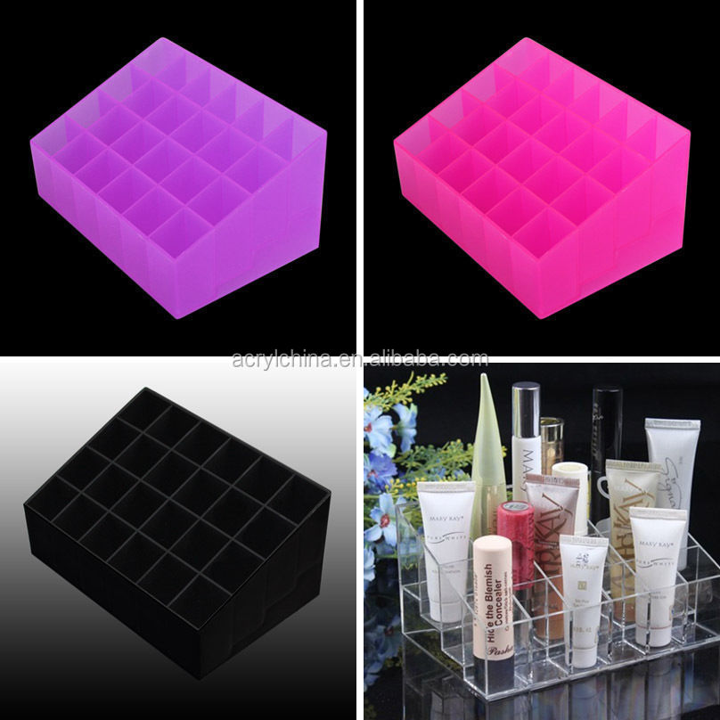 Mouse over image to zoom New-Makeup-Cosmetic-Clear-Acrylic-Lipstick-Holder-Organiser-Display-Stand-Holder New-Makeup-Cosmetic-