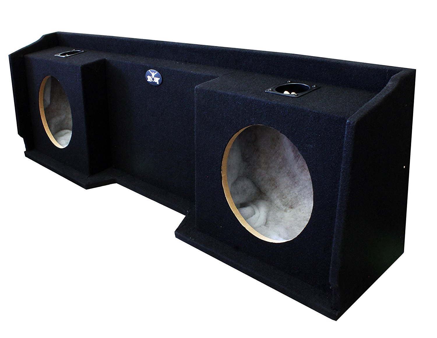 Absolute USA GM9906-12D 12-Inch Chevy GMC Dual Subwoofer Box