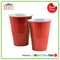 Wholesale Price Plastic Melamine Beer Pong Cups With Custom Logo
