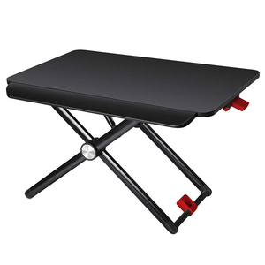 The Latest MDF Adjustable Height Portable Laptop Folding Standing Computer Desk