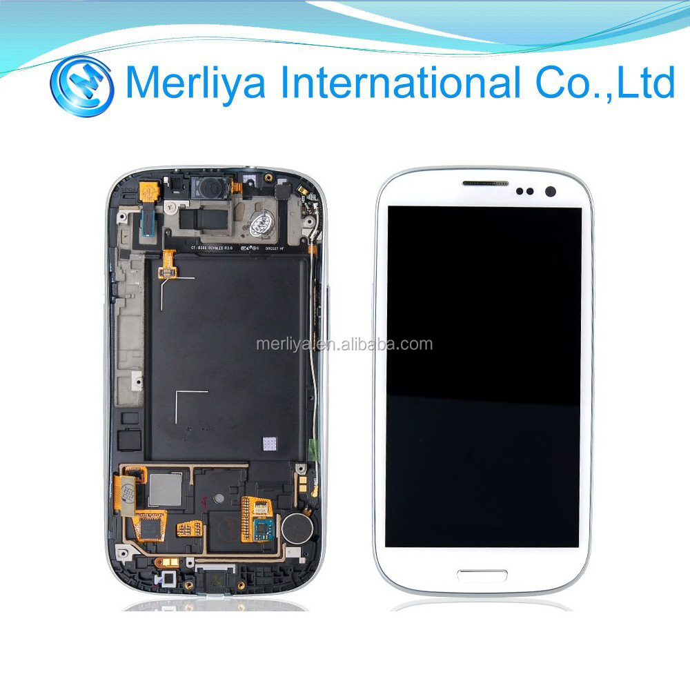 Mobile Phone LCD Display Screen for Samsung S3