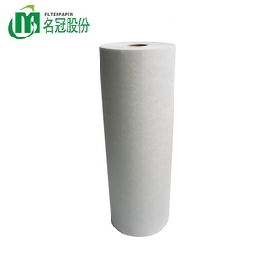 wholesale air cleaner filter paper meltblown nonwoven fabric media H13 air hepa filter