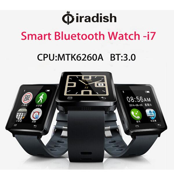 atongm w009 bluetooth 3.0 smart watch remote camera dialer sms wristwatch