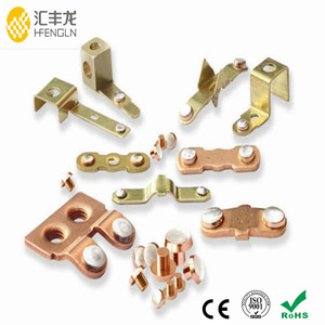 High quality Switch parts electrical contact material