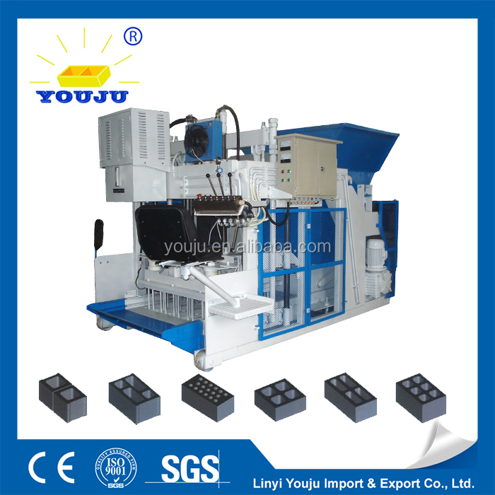 strict quality supervision Automatic fly ash automatic setting QMY12-15 brick machine
