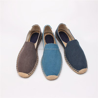 China men shoes cheap loafer shoes for men Slip on espadrille canvas shoes