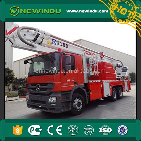 Zoomlion 4*2 4000L CAFS Foam Fire fighting Vehicle atv AP42D pipe fitting