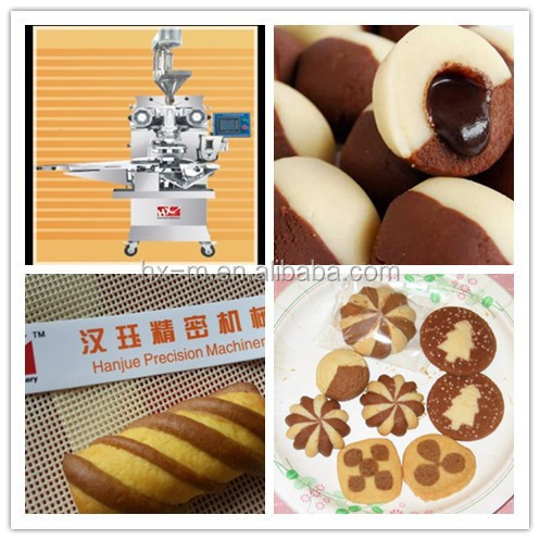 auto encrusting machine for Jam filled cookies (CE approved)