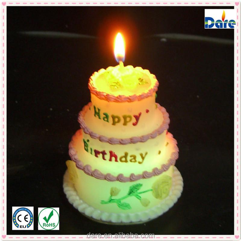 Elegant Birthday Favors Cake Sparkler Candles
