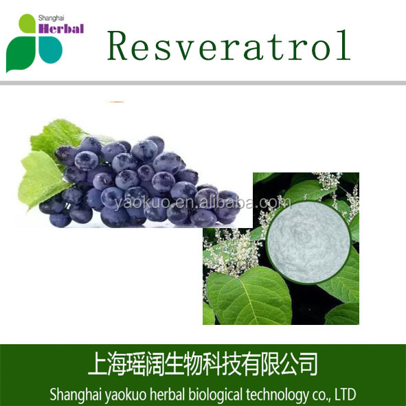 Free sample pure Cosmestics grade water-soluble bulk white resveratrol