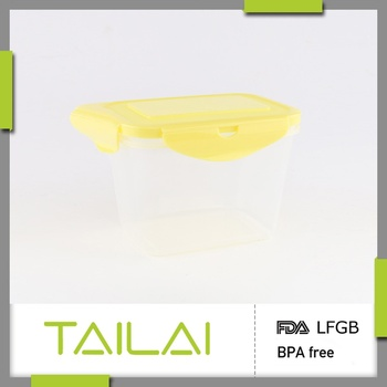 Best selling custom design promotional BPA free plastic snack box