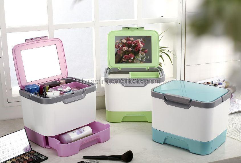 Organizer Ufficio Fai Da Te : Storage box desk decor cancelleria fai da te cosmetico di trucco