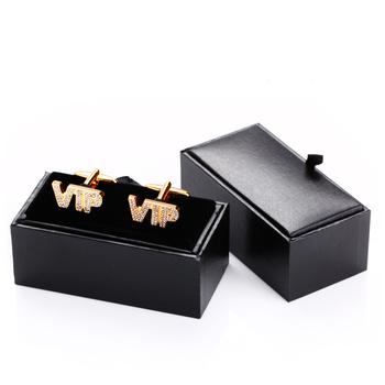 Black Gift Box Jewelry Package Display Menu0027s Cufflink Storage Box