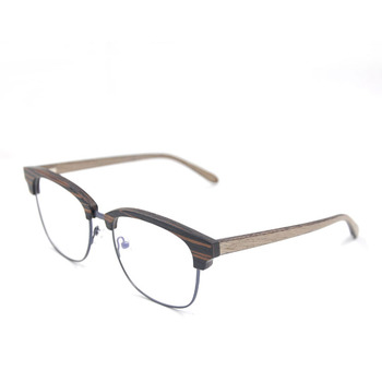 shenzhen top quality half frame glasses wood frame glasses - Wood Frame Glasses
