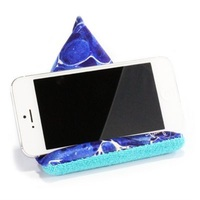 Mobile Device Stand Microfiber Bean Bag Cell Phone Holder