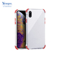 Wholesale Transparent Soft TPU Gel Bumper Protective Cover Clear Shockproof Absorption Phone Case for iphone X Xs