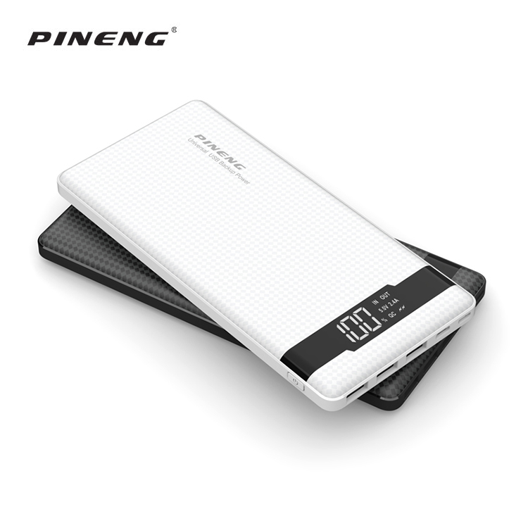 2020 products universal usb charging mobile power bank 20000mah powerbank, digital number power banks