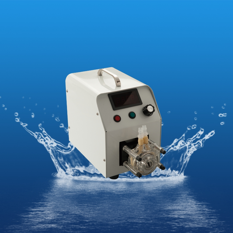 Updated compact small peristaltic pumps