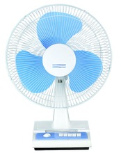 "9"" 12"" white Oscillating Desk Fan with 3 Speed Settings"