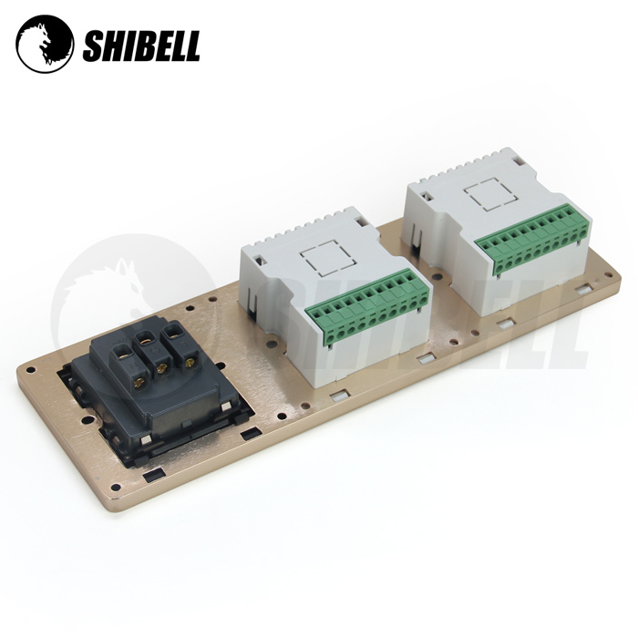 Shibell 3 In 1 Smart Room Capacitive Touch Screen Wall Light ...