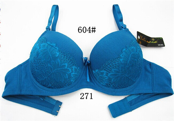 High quality plus size comfortable padded bras women indian cotton bra