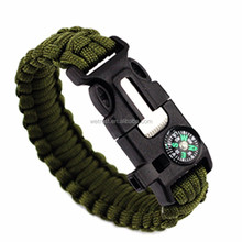 Commercio all'ingrosso Multifunzionale Esercito <span class=keywords><strong>Paracord</strong></span> <span class=keywords><strong>Braccialetto</strong></span> <span class=keywords><strong>Di</strong></span> Sopravvivenza