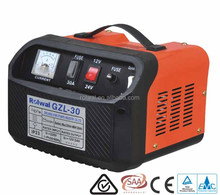 Rolwal Battery Charger Automatic Shut-Off 12V 24V Lead Acid Boost Start AC Cargador de Baterias GZL/CB30 GZL/CB40 GZL/CB50
