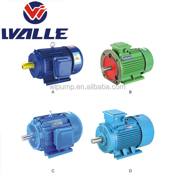 IE1 IE2 Y2 series ac three phase motor 150kw induction motor`
