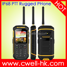 UHF walkie talkie GSM rugged push to talk alps mobile phone SWELL X6 Support A GPS