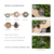New Designs Five Ancient Gold Silver Ring Sets, Fashion Finger Rings For Women