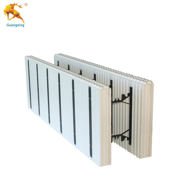 Guangxing EPS ICF Panels Plant Insulated Concrete Forms Building Foam Walls Blocks Material for Construction Sale