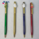 Cartoon Design Clip Slim Advertising Metal Ball Pen for Promotional Gift or Hotel pen