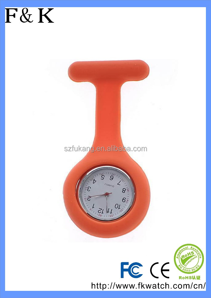 Custom made Hot Sell Silicone Nurse Doctor Watch Jelly Quartz Nurse Watch