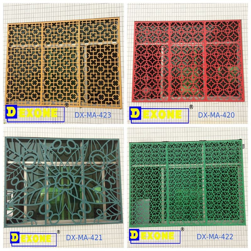 Custom Stylish Metal Laser Cut Panels As Outdoor Decorative Garden
