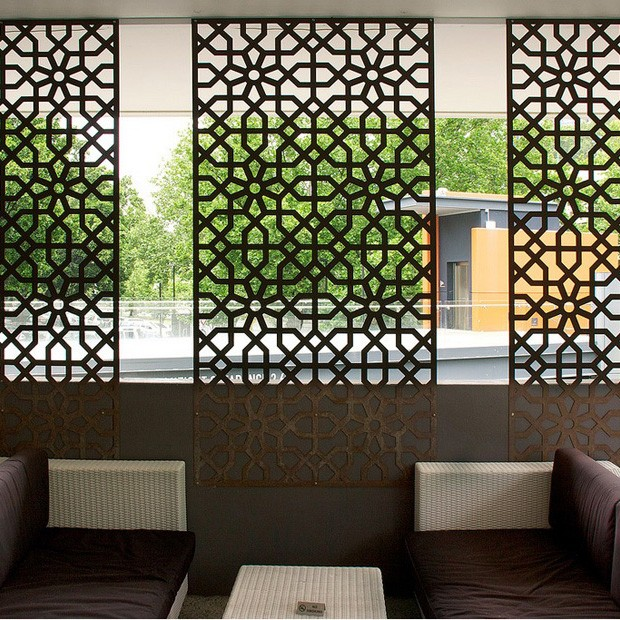 Perfect Aluminum Laser Cut Decor Partition Board AS SCREEN